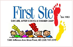 First Step Daycare, AFter School and Summer Camp